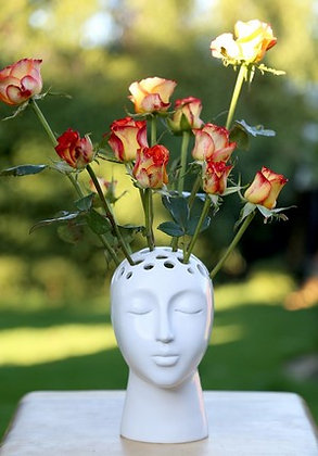 EUGENIE white- Planter/Vase