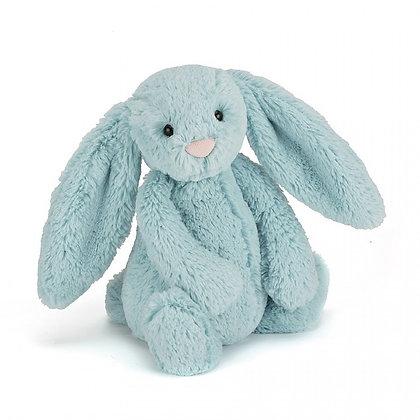 Bashful Aqua Bunny Medium