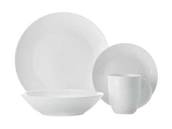 Cashmere Resort Coupe Dinner Set 16 Piece