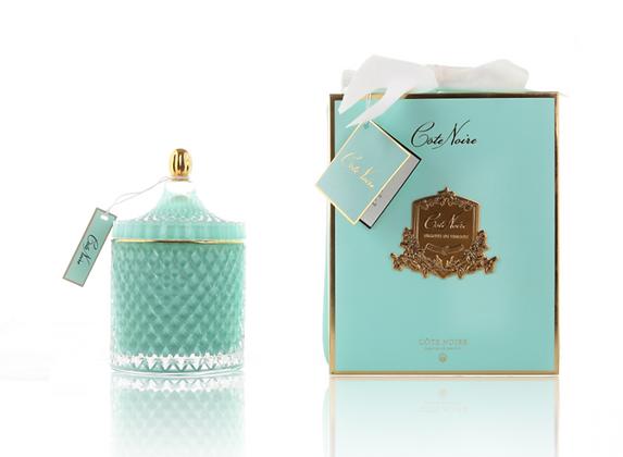 Grand Blue Grand Art Deco Candle - White Hydrangea