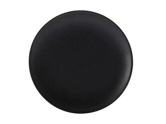 Caviar Black Coupe Plate 27.5cm