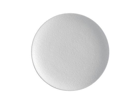 Caviar White Coupe Plate 15cm