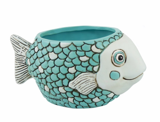 Baby FISH blue Planter