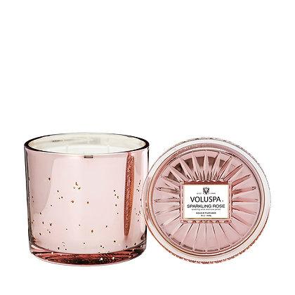Prosecco Rose Grande Candle