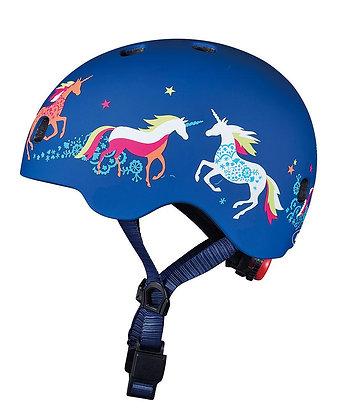 Micro Kids Pattern Helmet - Unicorn (Medium)