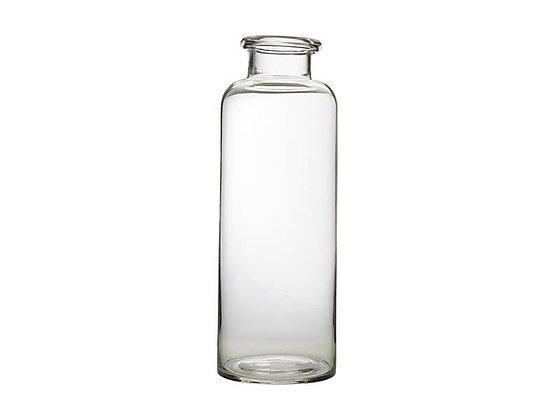Flourish Bottle Vase, 41cm Clear