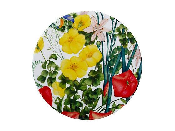 Royal Botanic GEH Ceramic Round Coaster 9.5cm Buttercup