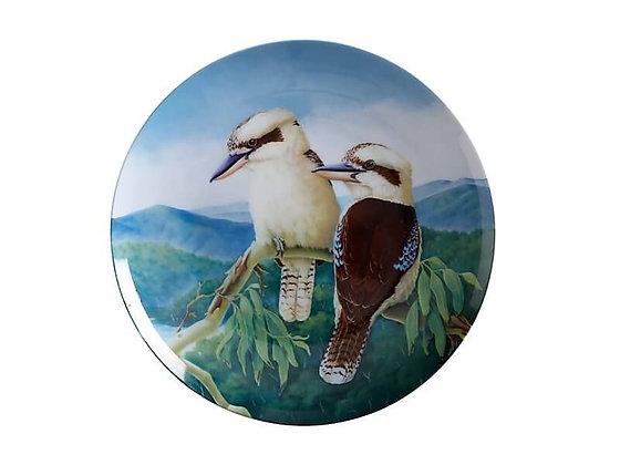 Birds of Australia 10 year Anniversary Plate 20cm Kookaburra