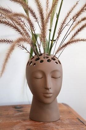 EUGENIE choco.-Planter/Vase