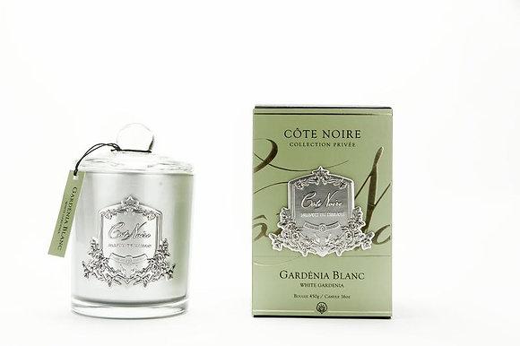 450 Gardenia - SILVER Candle