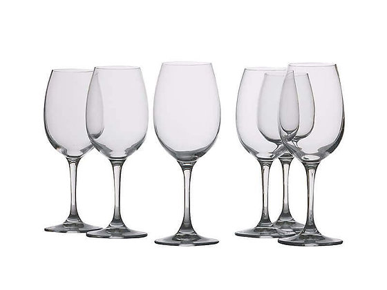 Mansion White Wine Glasses 240ML Set 6