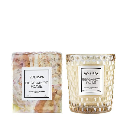 Bergamot Rose Classic Candle