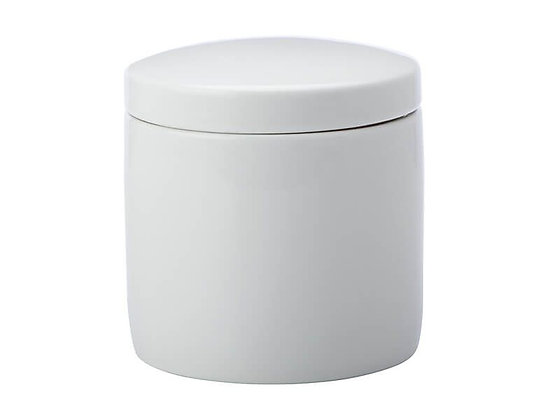 Epicurious Canister 600ML White Gift Boxed