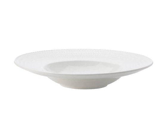 White Basics Diamonds Show Plate 30cm