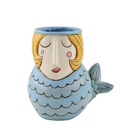 Blue MERMAID Vase/Plant