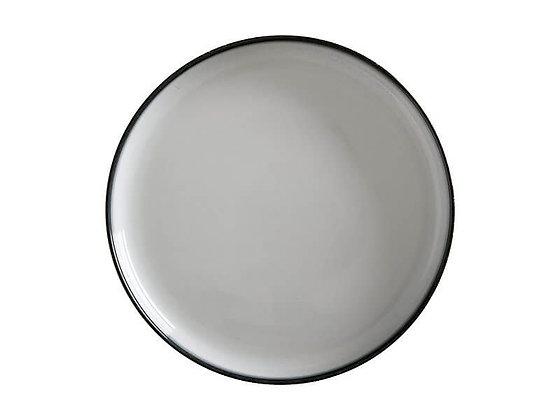 Caviar High Rim Platter 28cm Granite