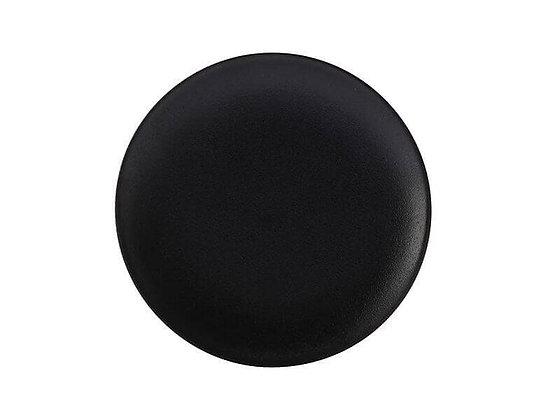 Caviar Black Coupe Plate 15cm