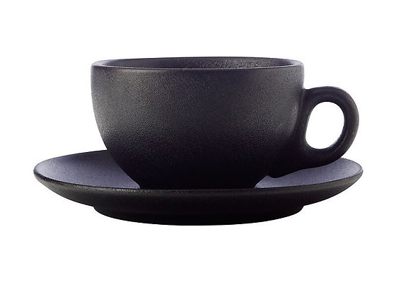 Caviar Coupe Cup & Saucer 250ML