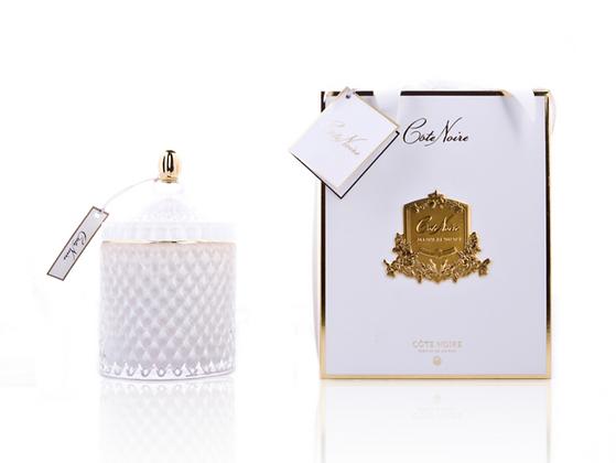 Grand Art Deco - White Large - jasmine