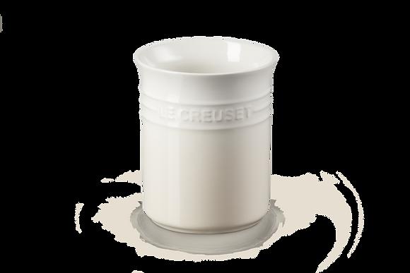 Small Utensil Jar - Meringue
