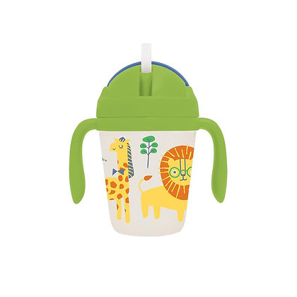 Bamboo Sippy Cup - Wild Thing