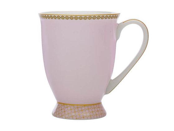 Teas & C's Classic Footed Mug 300ML Rose