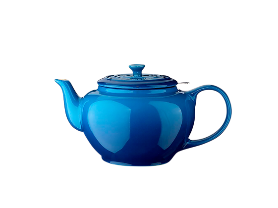 Classic Teapot w/ Stainless Steel Infuser  - Marseille Blue