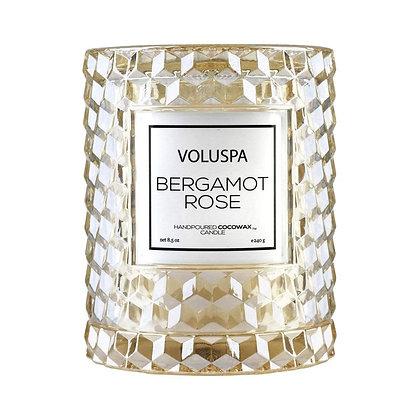 Bergamot Rose Icon Cloche Candle