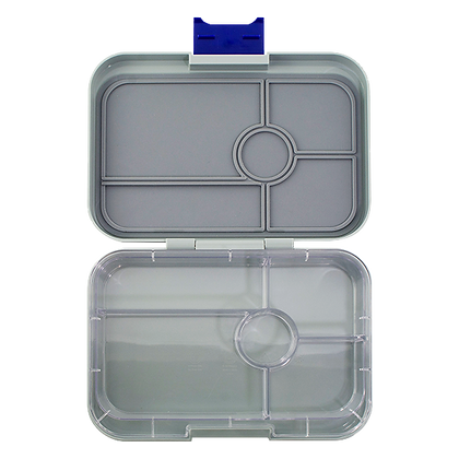 FLAT IRON GREY Yumbox Tapas - 5 Compartment