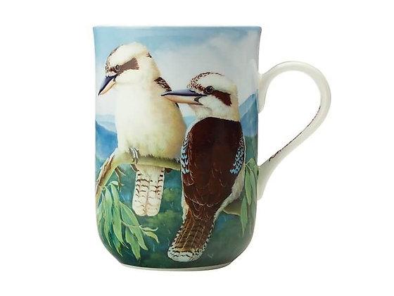 Birds of Australia 10 year Anniversary Mug 300ML Kookaburra