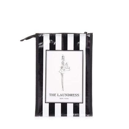 Black & White Striped Gift Bag