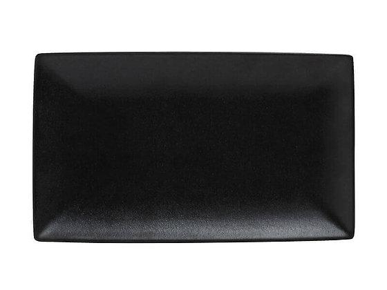Caviar Black Rectangle Platter 34.5x19.5cm