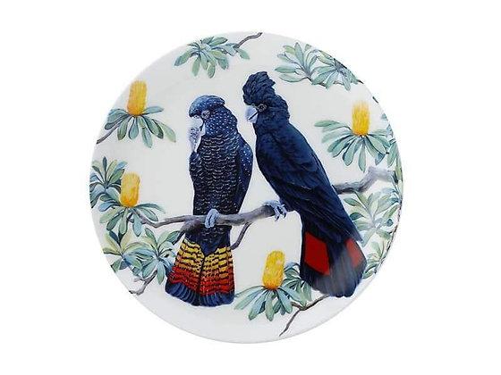 Cashmere Birdsong Plate 20cm Cockatoo