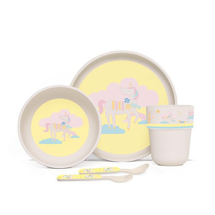 Bamboo Mealtime Set with Cutlery - Park Life