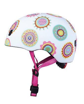 Micro Kids Pattern Helmet - Doodle Dot (Small)