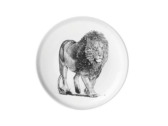 Marini Ferlazzo Plate 20cm African Lion