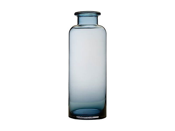 Flourish Bottle Vase 41cm Blue