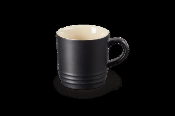 Cappucino Mug 200ml  - Satin Black