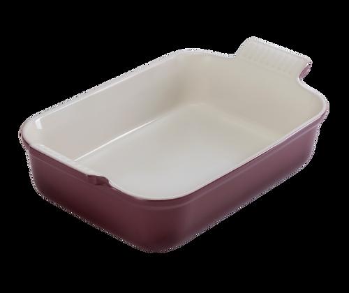Heritage Deep Rectangular Dish 32 - Fig