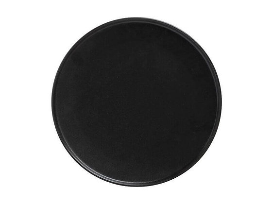 Caviar Black High Rim Plate 26.5cm