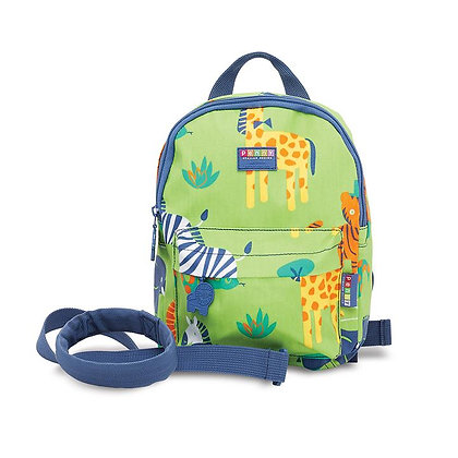 Mini Backpack with Rein - Wild Thing