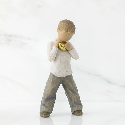 WT HEART OF GOLD FIGURINE