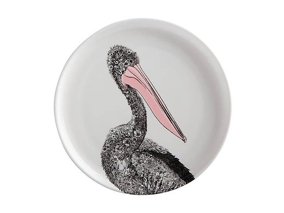 Marini Ferlazzo Birds Plate 20cm Australian Pelican