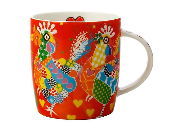 Love Hearts Mug 370ML Chicken Dance
