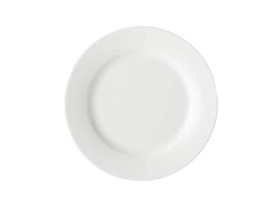White Basics Rim Side Plate 19cm