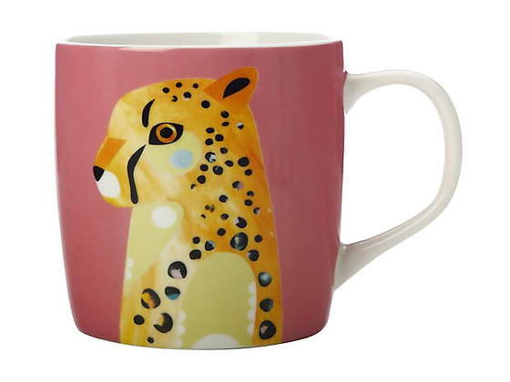 Pete Cromer Wildlife Mug 375ML Cheetah Gift Boxed