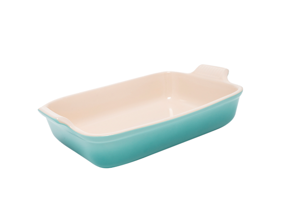 Heritage Deep Rectangular Dish 32 - Sage