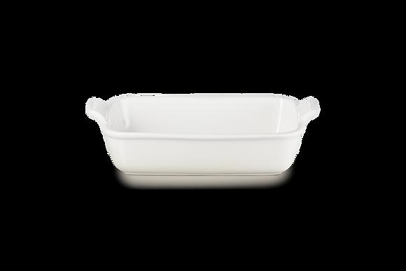 Heritage Deep Rectangular Dish 26 - Meringue
