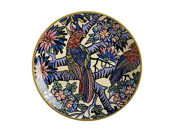 Greg Irvine Plate 20cm Birds In Paradise