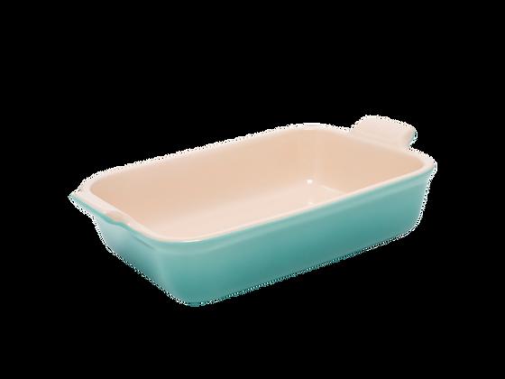 Heritage Deep Rectangular Dish 26 - Sage